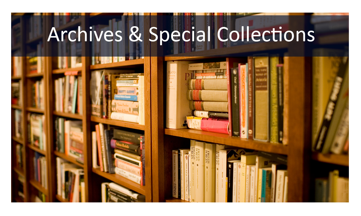 Archives Special Collections