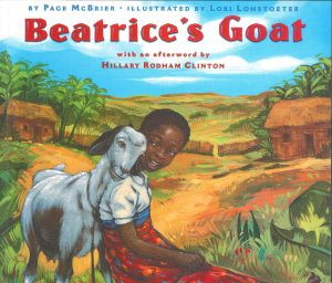 Beatrice Goat Cover
