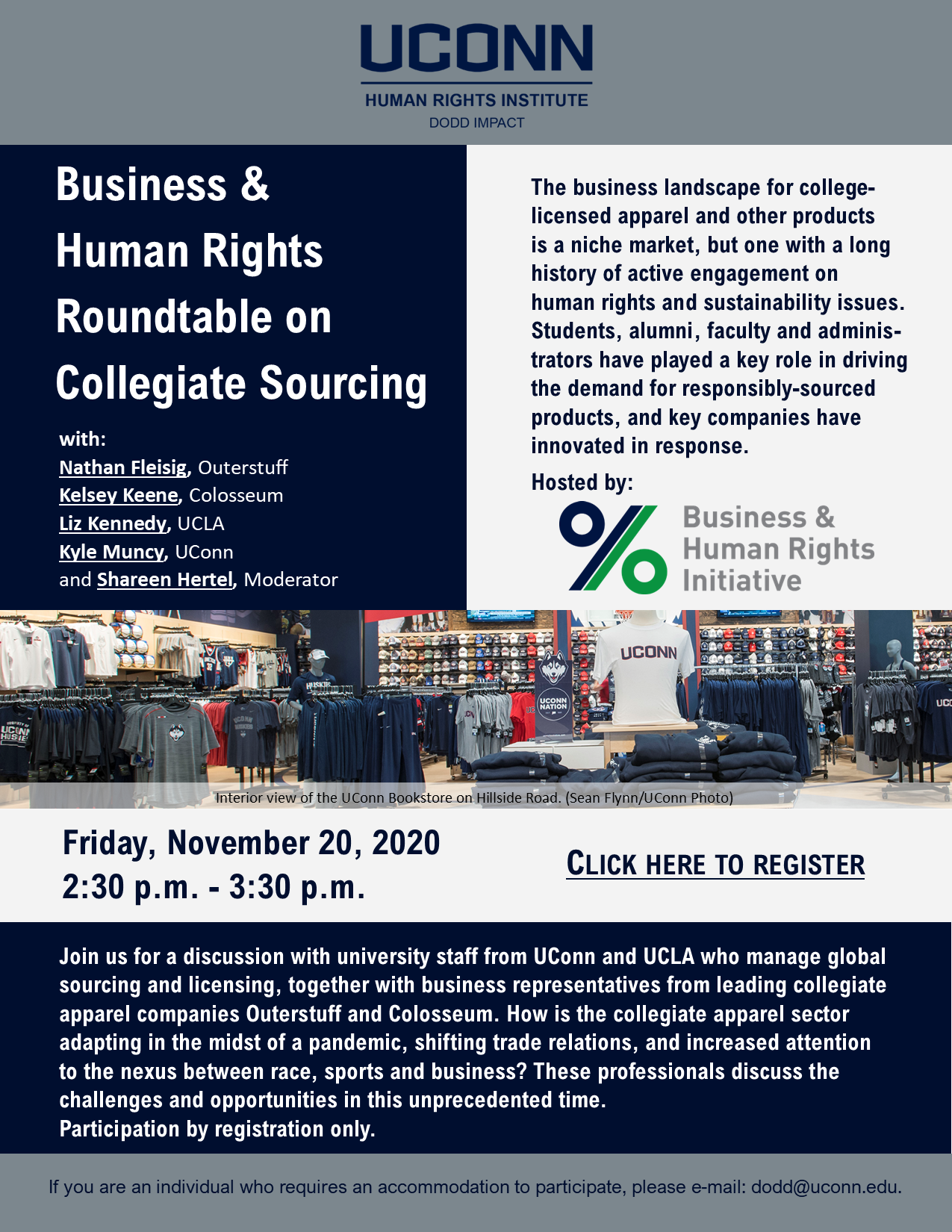 Business and Human Rights Roundtable Flyer